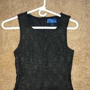 Black Blue Rain dress